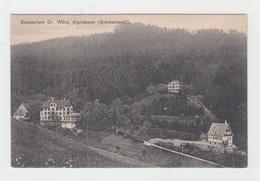 SANATORIUM Dr. WÜRZ / ALPIRSBACH (SCHARZWALD) - Alpirsbach