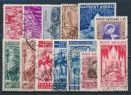 Vatikan - Gestempelte Partie Aus Nr. 48 / 191 ~ Michel 260,-- € - Oblitérés