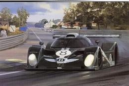 24 Heures Du Mans 2001  - Van De Poele/Leitzinger/Wallace  -  Bentley EXP Speed 8    - Art Card By Graham Turner - Le Mans