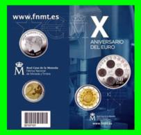 CARTERA OFICIAL EUROSET 30 EUROS + 2 EUROS Xº ANIV. EURO 2012. - Spanien