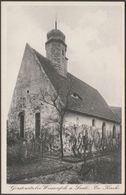 Kirche, Gerstewitz Bei Weissenfels Am Saale, Deutschland, C.1920s - Mangold & Zimmaß Foto AK - Sonstige