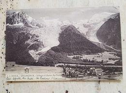 74 - CPA CHAMONIX - Village Et Glacier Des Bossons (J.J., 6658 A) - Chamonix-Mont-Blanc