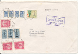 Colombia Cover Sent Air Mail To Germany 30-6-1957 - Colombie