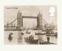 GRANDE-BRETAGNE - 2002 - TP  Autoadhésif  YT 2378  - SG N°2314 - NEUF  LUXE ** MNH - Pont De Londres, Tower Bridge - Unused Stamps