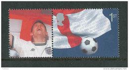 GRANDE-BRETAGNE - 2002 - Yvert  2338a - NEUF ** Luxe MNH - World Cup Football 2002 - 1952-.... (Elisabeth II.)