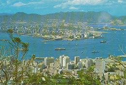 Full View Of Kowloon Peninsula And Hong Kong Central Area - Chine (Hong Kong)