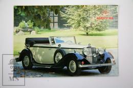 Spanish Mapfre Insurance Advertising Postcard - 1934 Mercedes-Benz 500K - Turismo