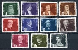 Liechtenstein MiNr. 257-66 Mit Falz/ Hinge Mark Incl. 259 B (LS550 - Ohne Zuordnung
