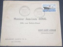 FRANCE - Enveloppe 1 Er Jour Du Paquebot France En 1962 - L 12784 - 1960-1969