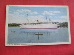 U.S.S. Southery  Portsmouth Navy Yard NH  Ref 2834 - Warships