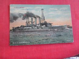 U.S.S. Georgia    Ref 2834 - Warships