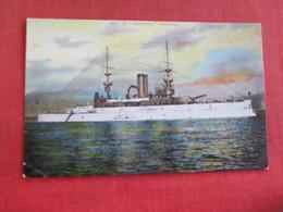 U.S. Battleship Wisconsin  Ref 2834 - Warships