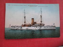 U.S. Protected Cruiser  Texas Ref 2834 - Warships