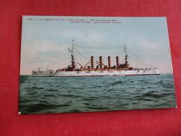 U.S. Armored Cruiser West Virginia    Ref 2834 - Warships