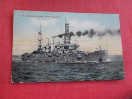 U.S. Armored Cruiser North Carolina   Ref 2834 - Warships
