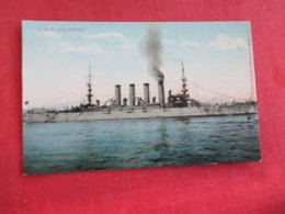 U.S. S. Colorado    Ref 2834 - Warships