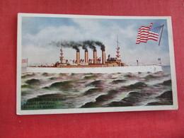 U.S. Cruiser  Colorado    Ref 2834 - Warships