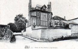 Cpa(77)-atelier De Rosa Bonheur A By-thomery. - Autres Communes