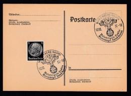 DR Postkarte Sonderstempel 1937 Marienberg Sachsen Ungelaufen K896 - Poststempel - Freistempel