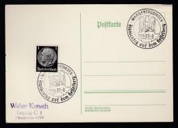 DR Postkarte Sonderstempel 1937 Wassertrüdingen Ungelaufen K1352 - Poststempel - Freistempel