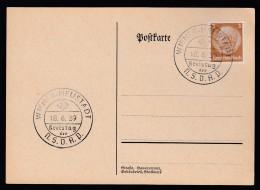 DR Postkarte Sonderstempel Kreistag NSDAP 1939 Wiener Neustadt Ungelaufen K1359 - Poststempel - Freistempel
