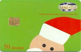 Armenia - ArmenTel - Merry Christmas Happy New Year - Santa Claus - 50U Sample (No Serial) - Armenia