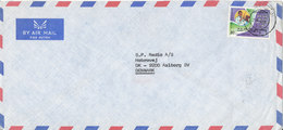 Kuwait Air Mail Cover Sent To Denmark 24-1-1978 Single Franked Dental Congress - Kuwait