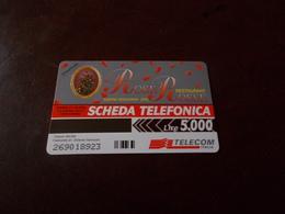 B677  Scheda Telefonica Rose Rosse Ristorante Somma Vesuviana - Schede Telefoniche