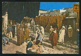 Marruecos. Tetuan. *Calle De Los Tintoreros* Ed. Lab. Vitapharm Nº 4. Circulada 1969 Franqueo Mecánico. - Marruecos