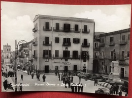 1959 CASTELTERMINI PIAZZA DUOMO E CORSO UMBERTO I / Municipio - Altre Città