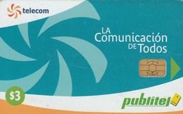 El Salvador - Telecom Logo - Blue - LA Comunicación DE Todos - El Salvador
