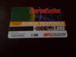 B677  Scheda Telefonica Invicta - Schede Telefoniche