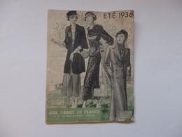 """Revue """"Aux Dames De France"""" 14, 6 Rue Maréchal-Joffre à Vierzon (18). - Journaux - Quotidiens"""