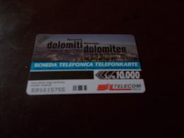 B677  Scheda Telefonica Dolomiti - Schede Telefoniche