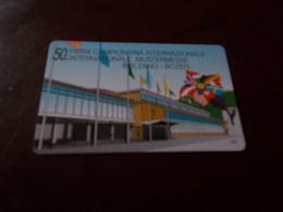 B677  Scheda Telefonica Bolzano Fiera Campionaria - Schede Telefoniche