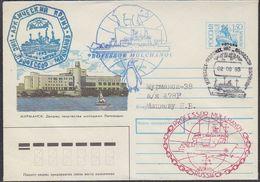 Russia 1993 Ship Prof. Molchanov Cover (37454) - Poolshepen & Ijsbrekers