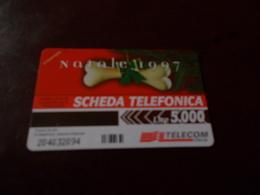 B677  Scheda Telefonica Natale 1997 - Schede Telefoniche