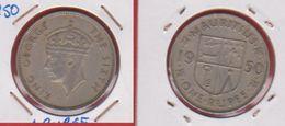 Mauritius   / KM 29.1 /  1 Rupee 1950  / TTB - Mauritius