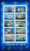 FR. 1999 - BLOC & FEUILLET N° 25 Armada Du Siécle - 10 TIMBRES NEUFS** 1,50€ - Vendu Sous Faciale - TBE - Mint/Hinged