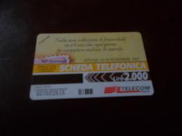 B677  Scheda Telefonica  Veronafil - Schede Telefoniche