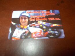 B677  Scheda Telefonica  Valentino Rossi - Schede Telefoniche