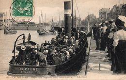 LE TREPORT-Depart Du Neptune Pour St Valery - Le Treport