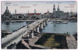 2 Cartoline Dresden Viaggiate 1918 - Dresden