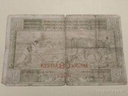 20 Dinari 1919 - Jugoslawien
