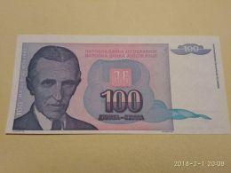 100 Dinari 1994 - Jugoslavia