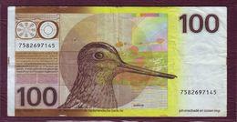 PAYS-BAS - 100 GULDEN Bécassine - 28/07/1977 - P. 97 - [2] 1815-… : Royaume Des Pays-Bas