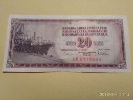 20 Dinari 1978 - Jugoslavia