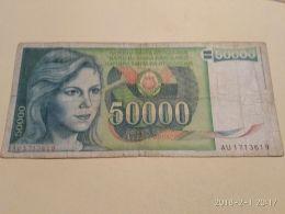 50000 Dinari 1988 - Jugoslavia