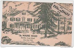 Long Island -  Cpa / The Maine Maid. Non Circulé. - Long Island