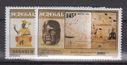 Sénégal     1992       N.       1017 / 1018                    COTE    3 , 00        EUROS      ( S 896 ) - Senegal (1960-...)